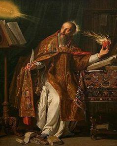 portrait of St. Augustine by Philippe de Champaigne